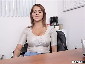 Latina milf very first porn Shoot at Bangbros hih13659