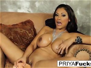 Priya sates her thirst with a fucktoy