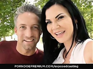 unveiled audition Jasmine Jae poked in scorching casting