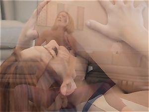 Krissy Lynn and Molly Stewart trib after yoga
