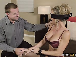 The spouse of Brandi enjoy lets her pummel a different stud
