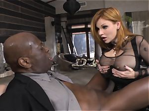 Cayenne Klein and Tarra white tearing up a black manstick