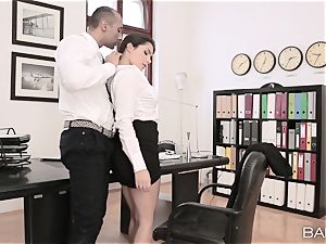 Valentina Nappi disrobes off and boinks her boss