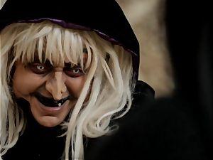 Jessica Drake and Riley Steele parody princess boink