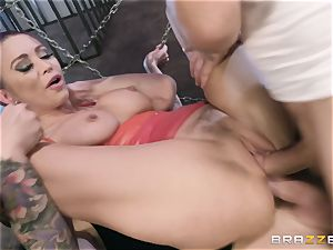 double penetration queen Monique Alexander