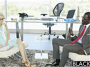super-hot assistant Odette Delacroix gullets bbc