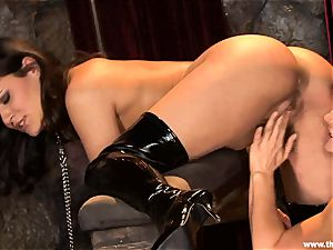 Alluring Charley haunt gets toy torn up by Lisa Ann