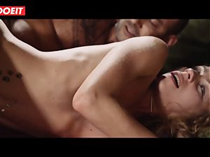 wondrous nubile wife Angel Emily pays hubby debt with orgy