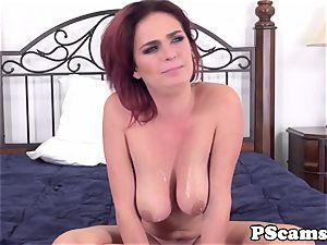red-haired webcam babe Ashlee Graham cockriding