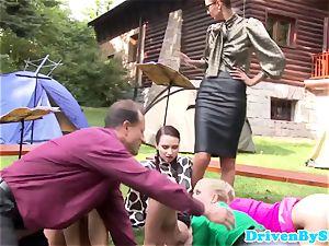Goldenshower fetish eurobabes outdoor bang