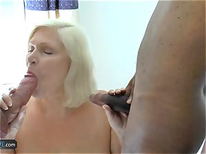 AgedLovE Lacey Starr duo fuckpole throating And xxx