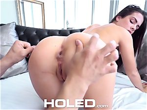HOLED Keisha Grey neat butthole gets humped