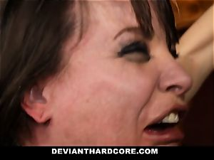 DeviantHardcore-Hot milf caressed and handcuffed To Cross