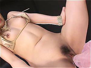 crazy japanese whore frigs herself to ejaculation