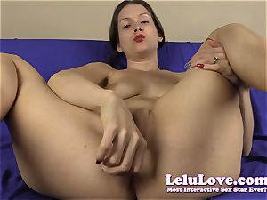 point of view finger-tickling my pussy for you with jerkoff directive