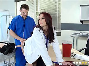 luxurious doc Monique Alexander porks her trainee