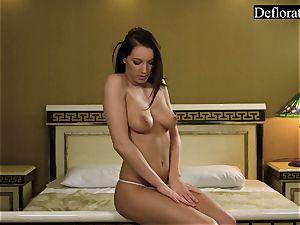 wet masturbation of Milka