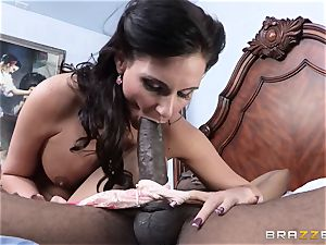 Phoenix Marie gets a well needed massive dark-hued cock