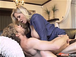 Julia Ann gash filled on mothers day