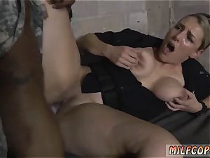 dark-hued doll gauze gagged and swimsuit oral pleasure first time faux Soldier Gets Used as a ravage toy