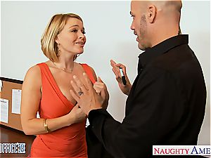 blondie Krissy Lynn at the office getting smashed firm