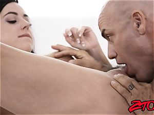 busty 18yo Whitney Wright taunting and severely pummeled