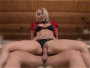 Kathia Nobili gets an assful of manmeat