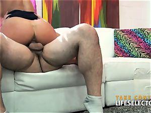 Cherie DeVille - cougar 3 way plumb fest