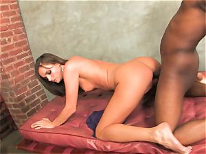 antsy for cum Tori black gets a fountain gushed in her throat