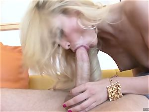 lippy Monique Alexander has her dribbling cootchie gobbled