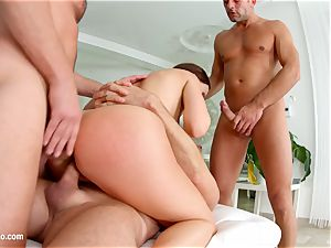 filthy creampie - Tina Kay gang-bang Part two by All Inter