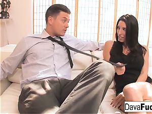 audition couch with Bradley that concludes with a internal cumshot