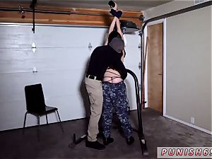 tough cruel agonizing crying anal invasion and sloppy piss Kyra Rose was sent into a covert mission