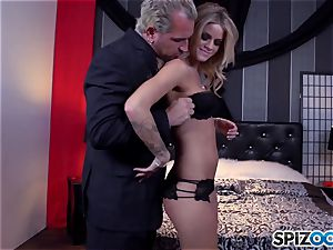 Jessa Rhodes tasty cock-squeezing gash is humped by a immense beef whistle