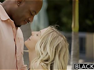 BLACKED first bi-racial four-way for sexy Blondes Karla Kush and Jillian Janson