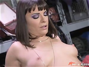 Dana DeArmond gets her gorgeous taut snatch licked and played with