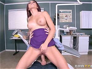 jummy dentist Monique Alexander sucks patients meaty chisel