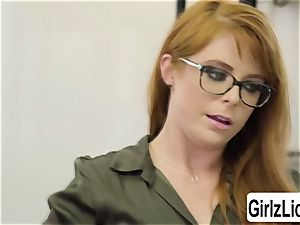 molten Therapist Penny Pax gets her slit pummeled by client Whitney Wrights