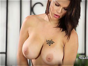 CrushGirls - Peta Jensen has some joy with her faux-cock