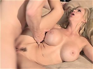 A tiny help from my pals part 4 with milf Alexis Fawx