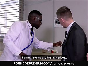 porno ACADEMIE - assfuck three way with towheaded college girl