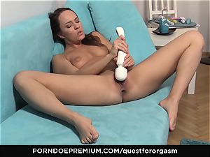QUEST FOR orgasm - Blue Angel vibro induced ejaculations