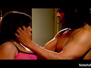 big-boobed bombshell Natasha super-cute gets smashed by Nick Manning