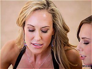 Moms teach lovemaking - mom seduces her cherry stepson