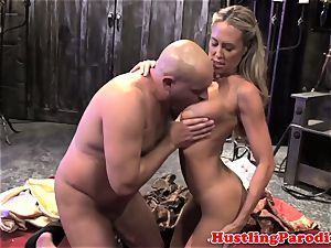 Brandi enjoy making varys gargle his geyser