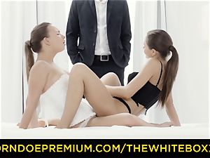 THE white BOXXX Tina Kay shares yam-sized boner in threesome